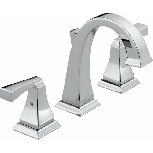 Delta Dryden Widespread Bathroom Faucet with Double Lever Handles