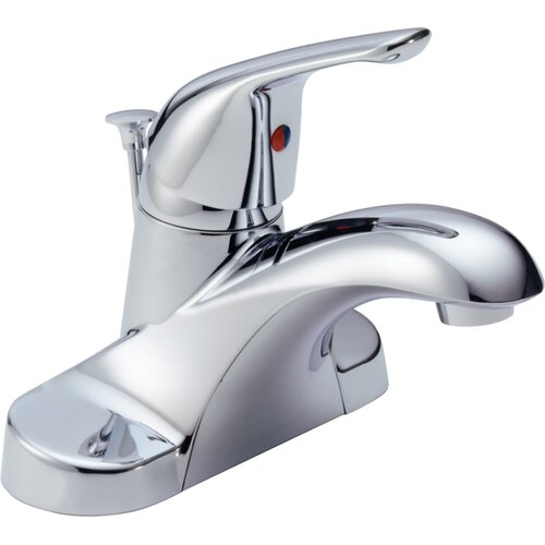 Foundations Centerset Bathroom Faucet with Single Handle