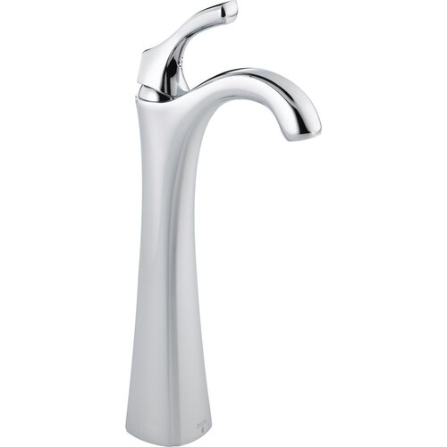 Delta Addison Single Hole Sink Bathroom Faucet with Single Handle and Diamond Seal Technology