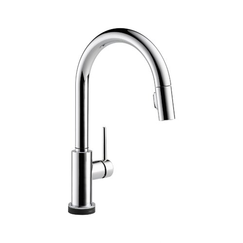 Trinsic Pullout Spray Touch Kitchen Faucet with Touch2O, MagnaTite Docking, Diamond Seal and ...