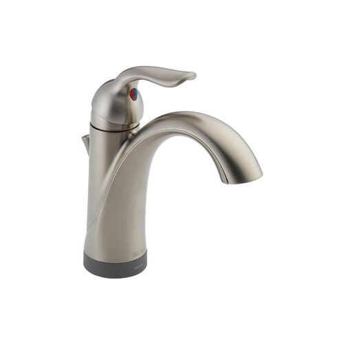 Lahara Single Handle Single Hole Bathroom Faucet with Diamond Seal Technology