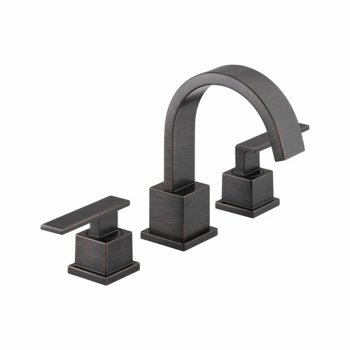 Delta Vero Two Handle Widespread Bathroom Faucet