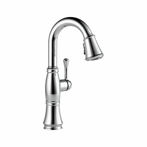 Cassidy Single Handle Single Hole Bar Faucet with Diamond Seal Technology