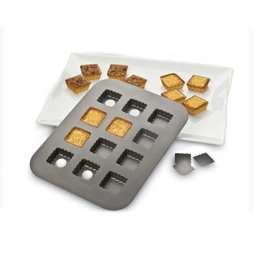 Lift and Serve Single Squares Pan