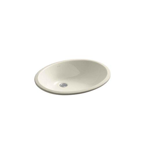Caxton Undercounter Lavatory with Glazed Underside, 19