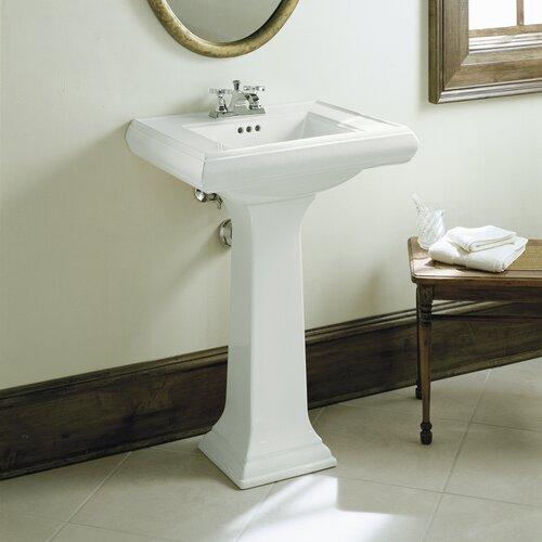 Kohler Memoirs Pedestal Sink : Kohler Memoirs Classic 27