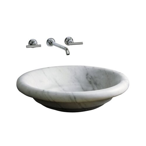 Kohler Botticelli Vessels Countertop Lavatory with Single-Hole Faucet Drilling