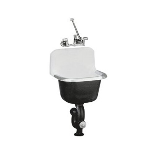 Bannon Service Sink with Rim Guard, 24