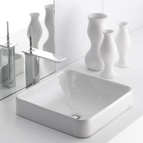 Kohler Vox Sink : Kohler Vox Square Vessel & Reviews Wayfair