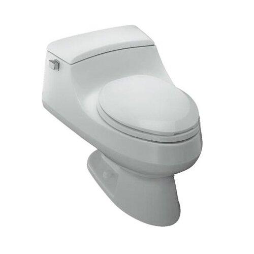 San Raphael™ Elongated 1 Piece Toilet with French Curve® Quiet-Close Toilet Seat