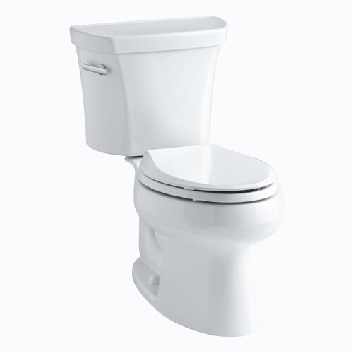 Wellworth 1.28 GPF Two-Piece Elongated Toilet with 12