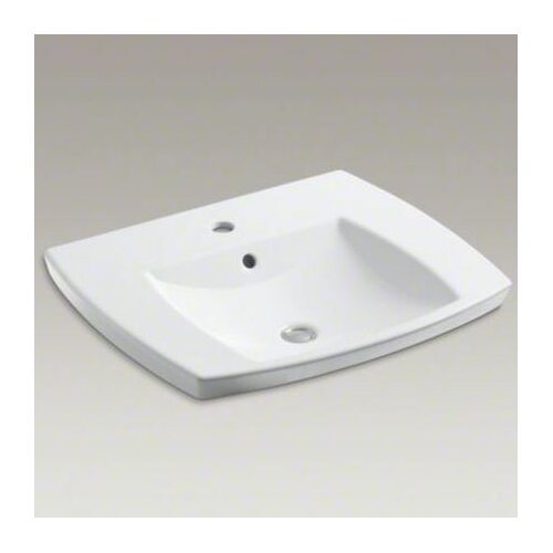 Kohler Kelston Self-Rimming Lavatory with Single-Hole Drilling