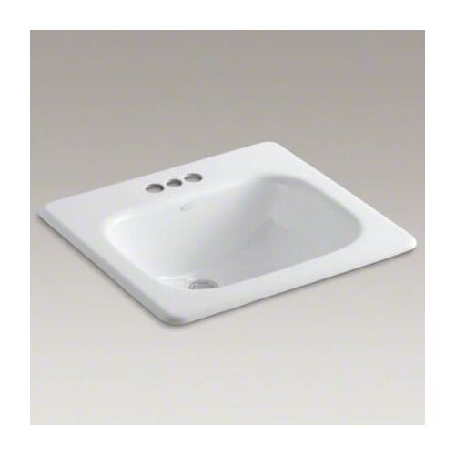 "Kohler Tahoe Self-Rimming Lavatory with 4"" Centers"