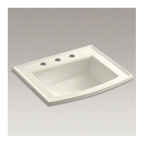 """Kohler Archer Self-Rimming Lavatory with 8"""" Centers"""