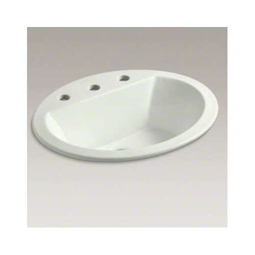 "Kohler Bryant Oval Self-Rimming Lavatory with 8"" Centers"