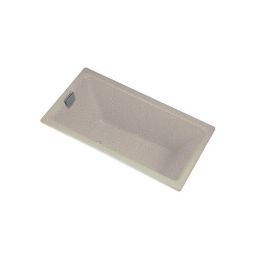 "Kohler Tea-For-Two 66"" X 36"" Alcove Bath with Integral Tile Flange and Right-Hand Drain"