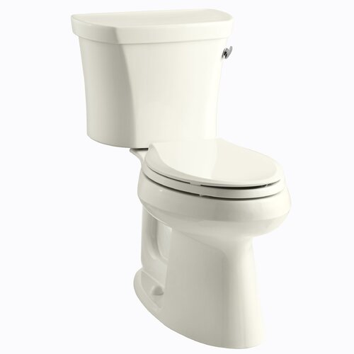 Highline 1.28 GPF Two-Piece Comfort Height Elongated Toilet with 14
