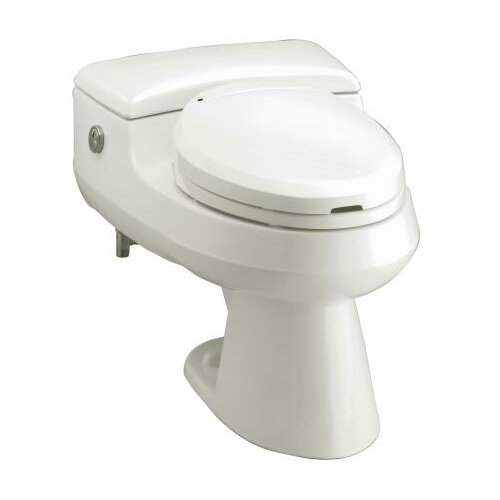 San Raphael Comfort Height One-Piece Elongated Dual-Flush Toilet with Power Lite Flush ...