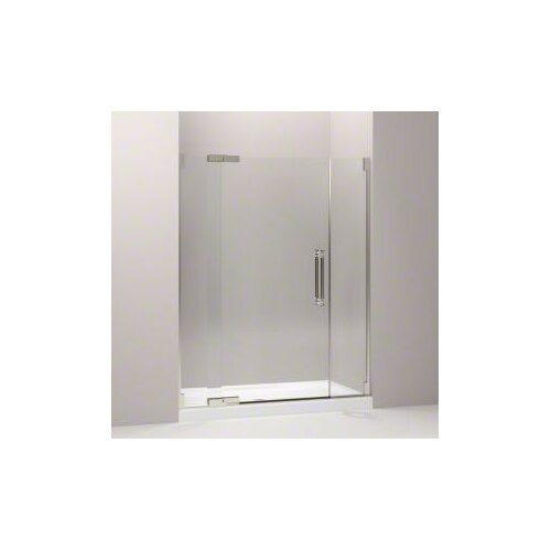 "Kohler Pinstripe 57.25"" - 59.75"" Pivot Shower Door with 0.5"" Crystal Clear Glass"
