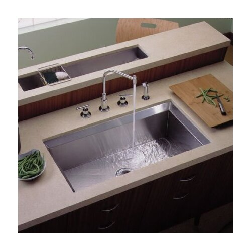 Poise Undercounter Single-Basin Kitchen Sink