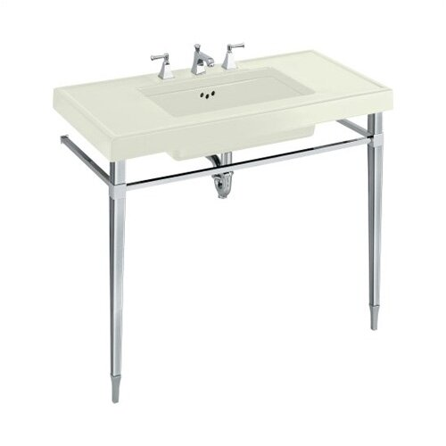 """Kohler Kathryn 42"""" X 22"""" Fireclay Console Table Top with 10"""" Centers"""