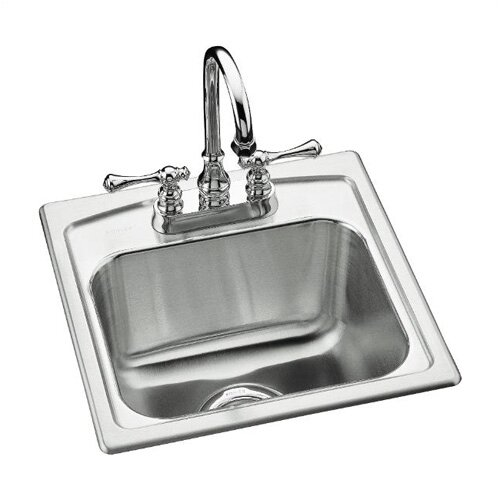 Kohler Toccata Top-Mount Bar Sink with 2 Faucet Holes