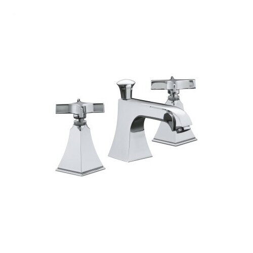 Memoirs Widespread Lavatory Faucet with Stately Design and Cross Handles