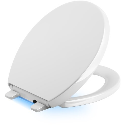 Reveal LED Nightlight Round-Front Quiet-Close Toilet Seat
