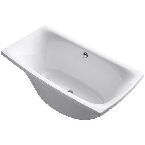 "Kohler Escale 72"" X 36"" Freestanding Bath and Center Drain"