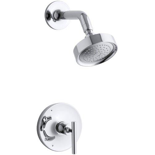 Kohler Purist Rite-Temp Pressure-Balancing Bath and Shower Faucet Trim ...