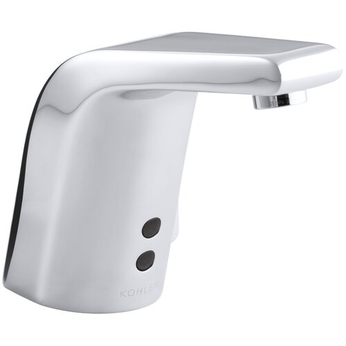 Kohler Sculpted Single Hole Touchless Dc Powered Commercial Bathroom Sink Faucet With Insight