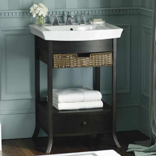 Kohler Archer Pedestal Bathroom Sink With 8 Widespread