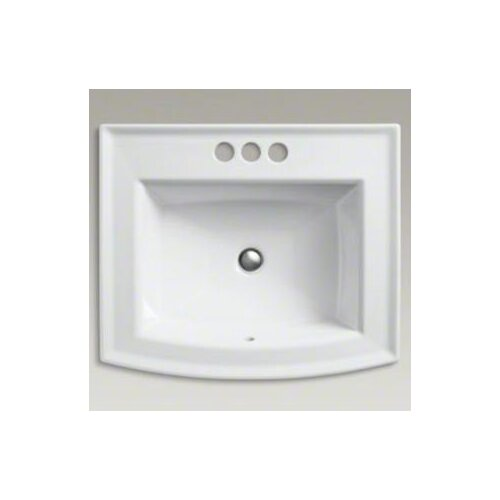 """Kohler Archer Self-Rimming Lavatory with 4"""" Centers"""