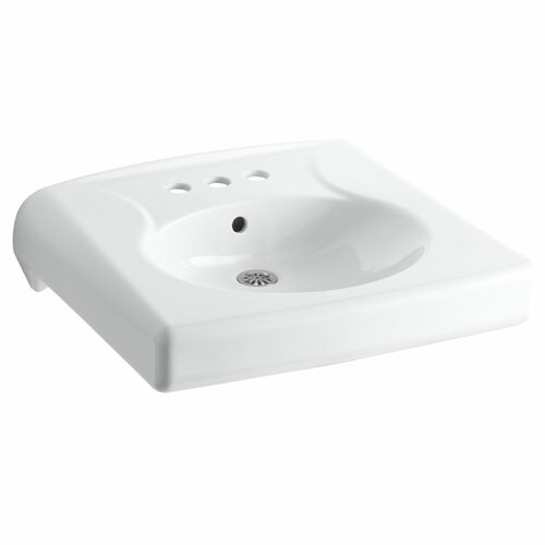 Brenham Wall-Mount Lavatory with 4