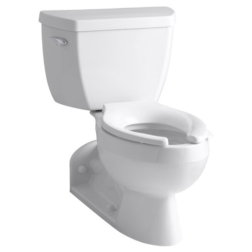 Barrington Pressure Lite Toilet with Elongated Bowl and Left-Hand Trip Lever