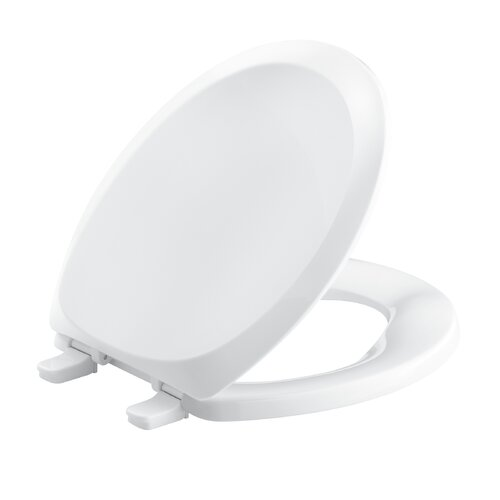 Kohler French Curve Q2 Advantange Round Toilet Seat and Cover