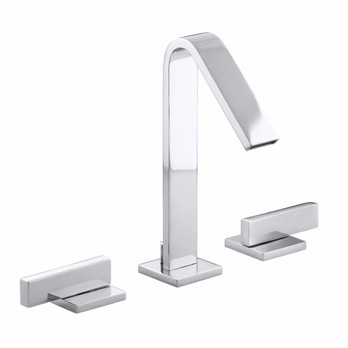 Loure Widespread Bathroom Faucet with Lever Handles