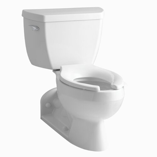 Barrington Pressure Lite Toilet with Elongated Bowl with Tank Cover Locks