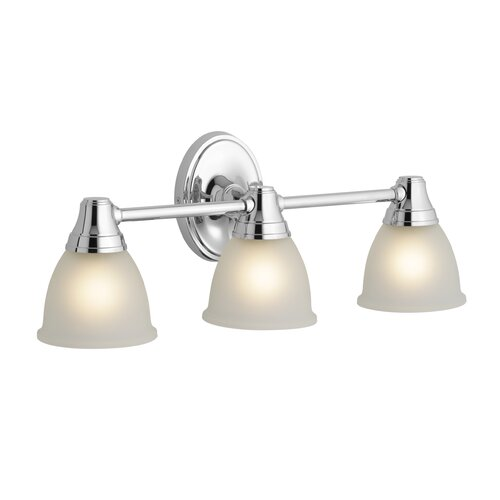 Kohler Forté Transitional Triple Wall Sconce