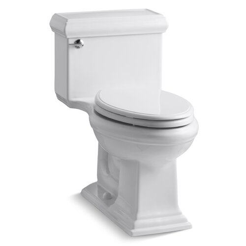 Kohler Toilets Reviews : Kohler Memoirs Classic Comfort Height One-Piece Elongated 1.28 Gpf ...