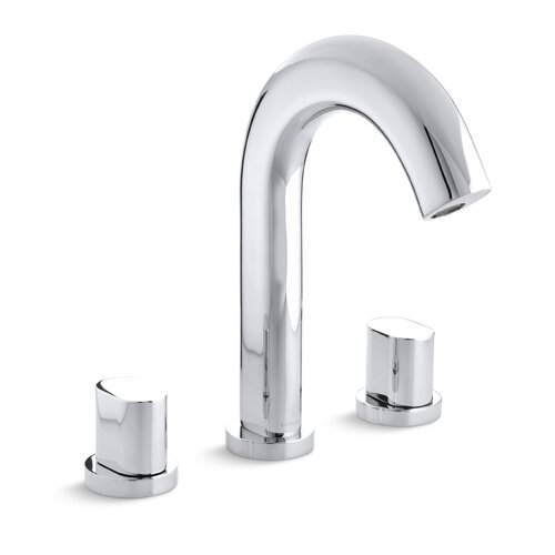 Kohler Oblo Deck-Mount Bath Faucet Trim, Valve Not Included