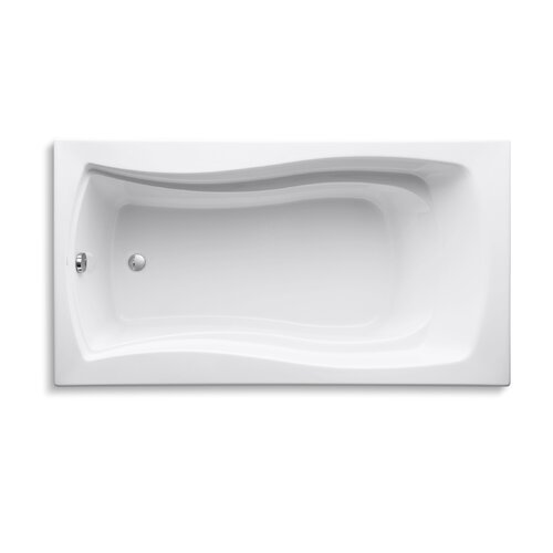 "Kohler Mariposa 66"" X 36"" Drop-In Bath with Reversible Drain"