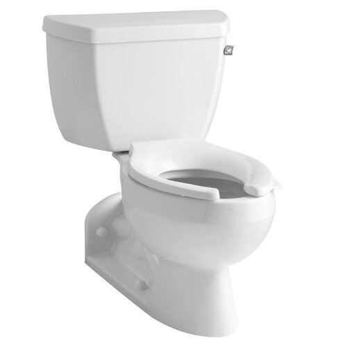 Barrington Pressure Lite Toilet with Elongated Bowl and Right-Hand Trip Lever