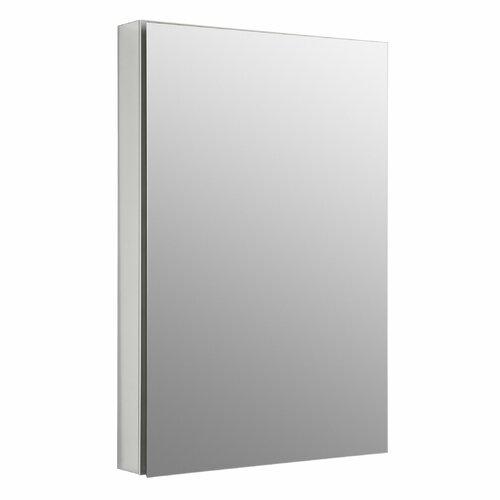"Kohler Catalan 24"" x 36"" Single Door Medicine Cabinet with 107 Degree Hinge and Triple Mirror"