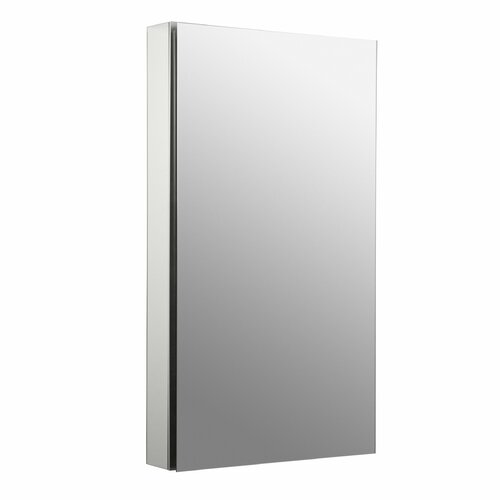 "Kohler Catalan 20"" x 36"" Single Door Medicine Cabinet with 107 Degree Hinge and Triple Mirror"