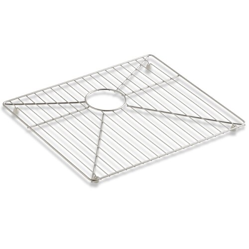 "Kohler Vault 11 1/5"" Bottom Sink Rack for 36"" Offset Apron Front Sink"