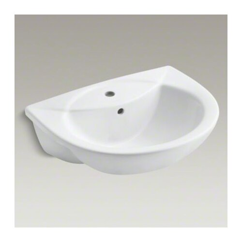 Kohler Ada Sinks : Odeon Single-Hole Semi-Recessed Lavatory