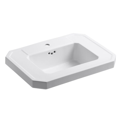 Kathryn Lavatory Basin with Single-Hole Drilling
