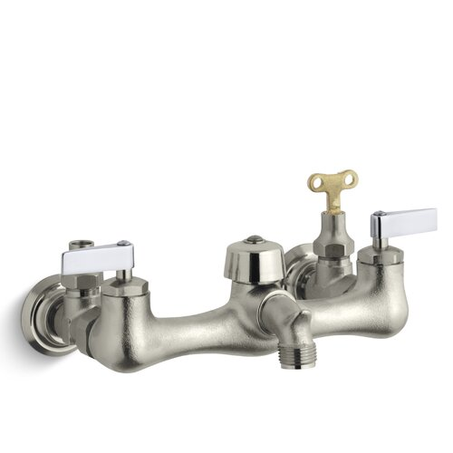 Kohler Knoxford Service Sink Faucet with Loose-Key Stops and Lever Handles