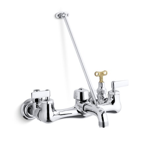 Bathroom Sink Faucet Loose: Kinlock Service Sink Faucet With Loose-Key Stops And Lever